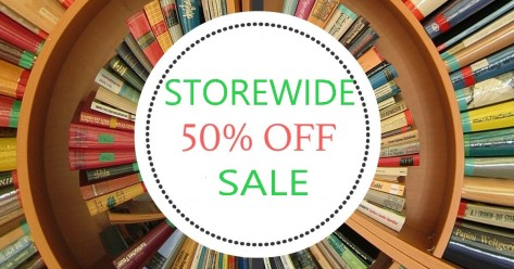 storewide 50% off sale
